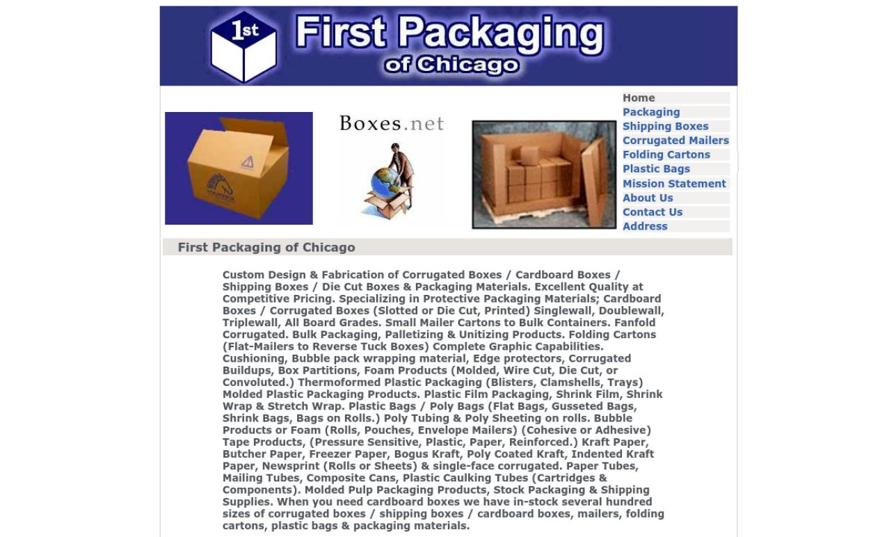 First Packaging of Chicago