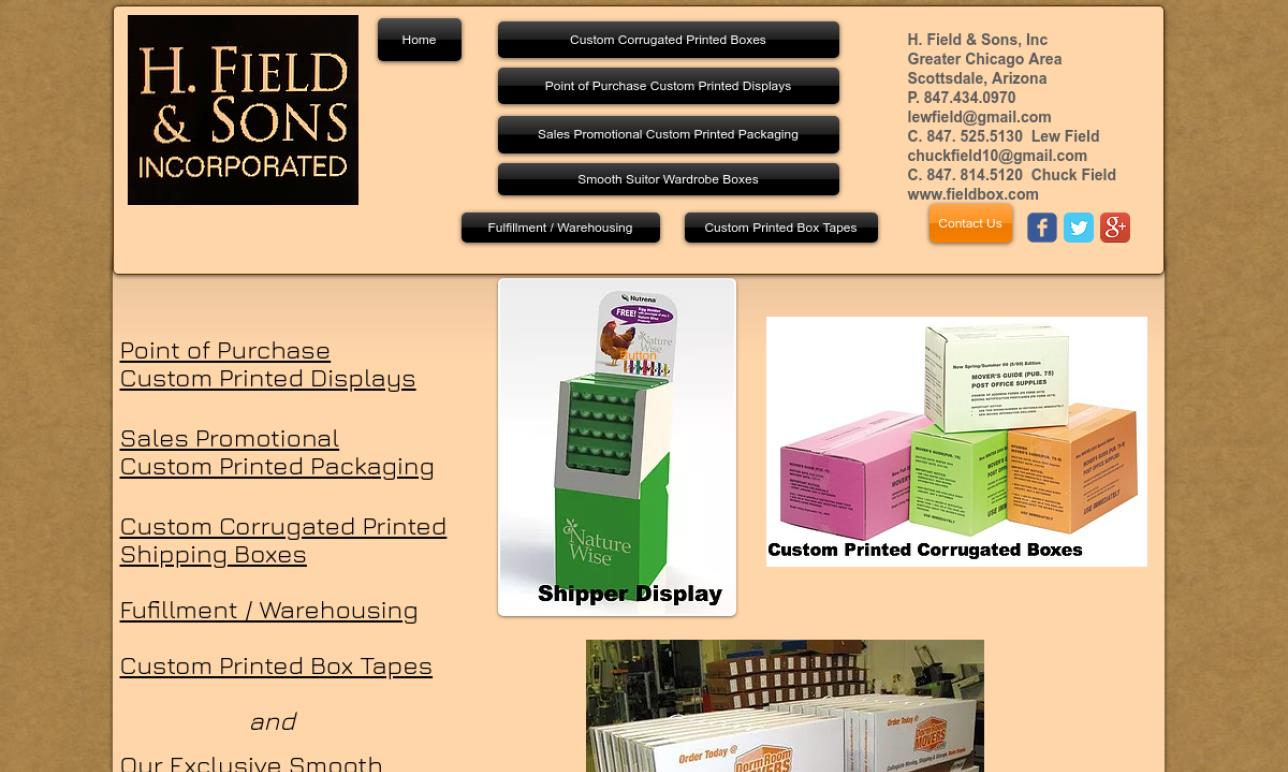 H. Field & Sons, Inc.