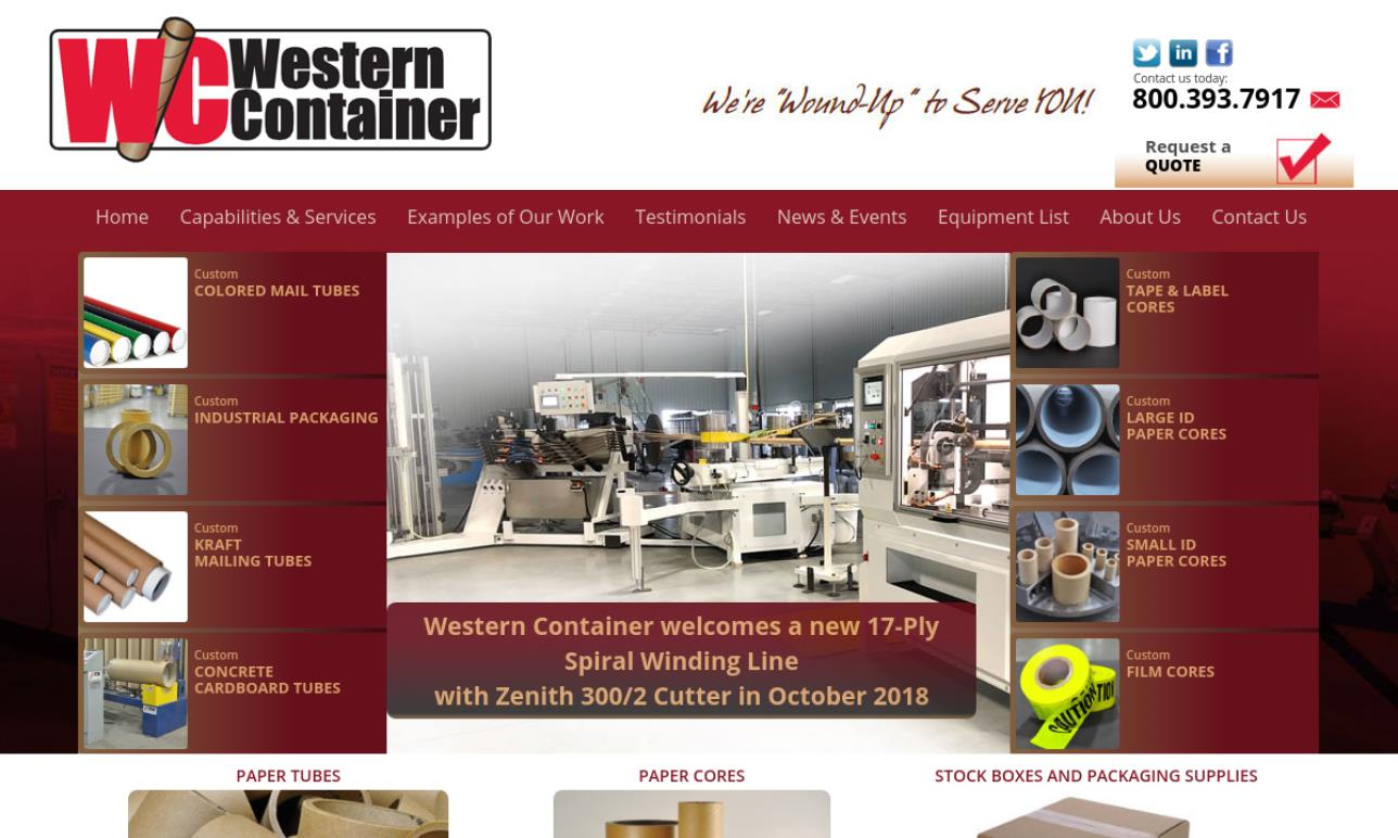Western Container Corp.