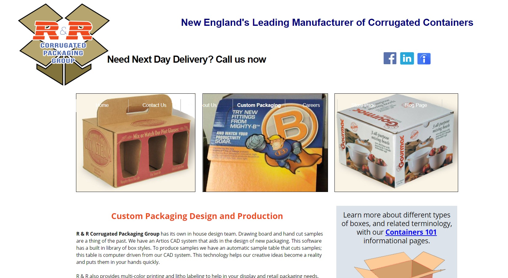 R & R Corrugated Packaging Group